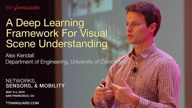 Alex Kendall: TTI/ Vanguard, 'Networks, Sensors, & Mobility'